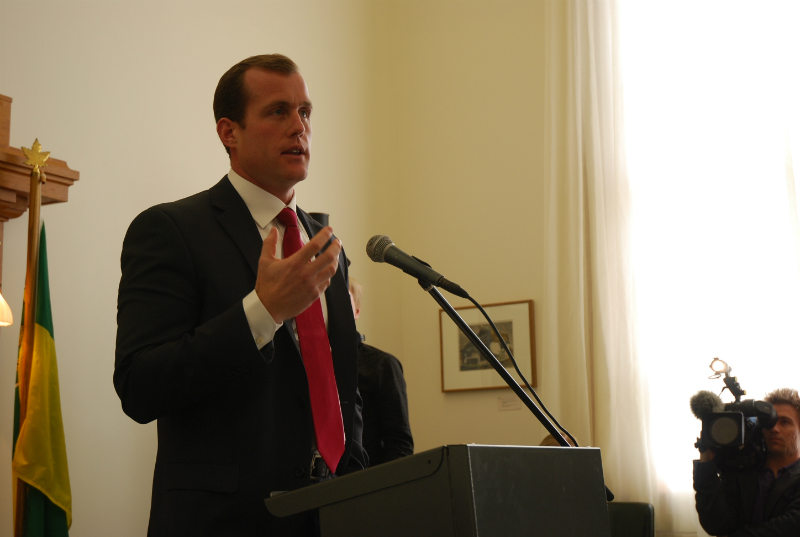 NDP Opposition Finance Critic Trent Wootherspoon will be in Moose Jaw this Sunday