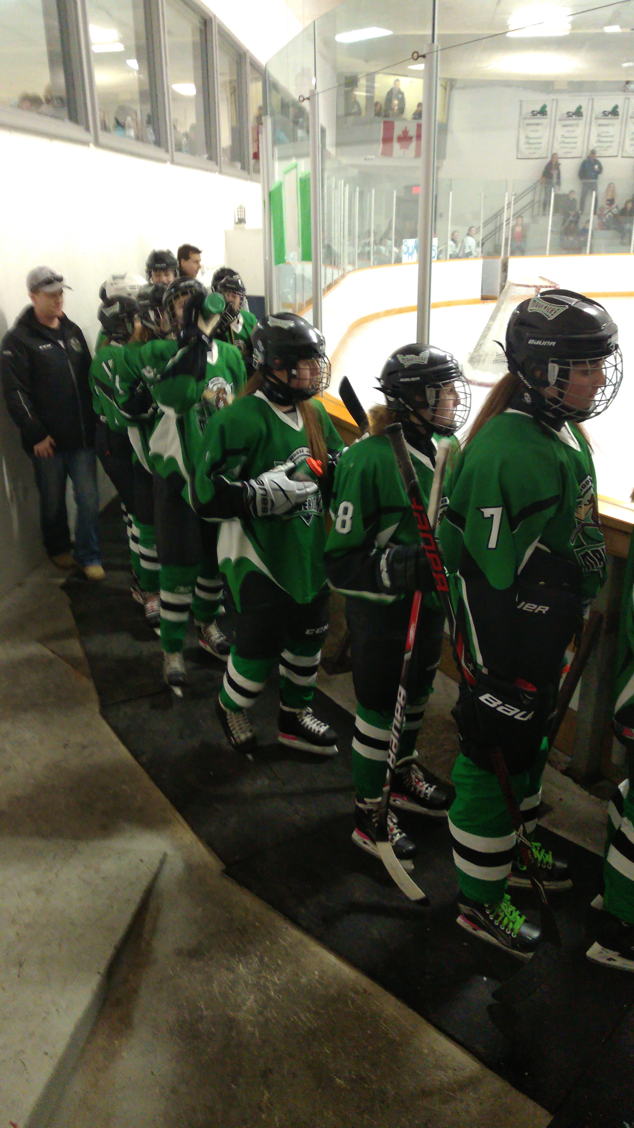Mavericks Await Their Individual Introductions Before The Game
