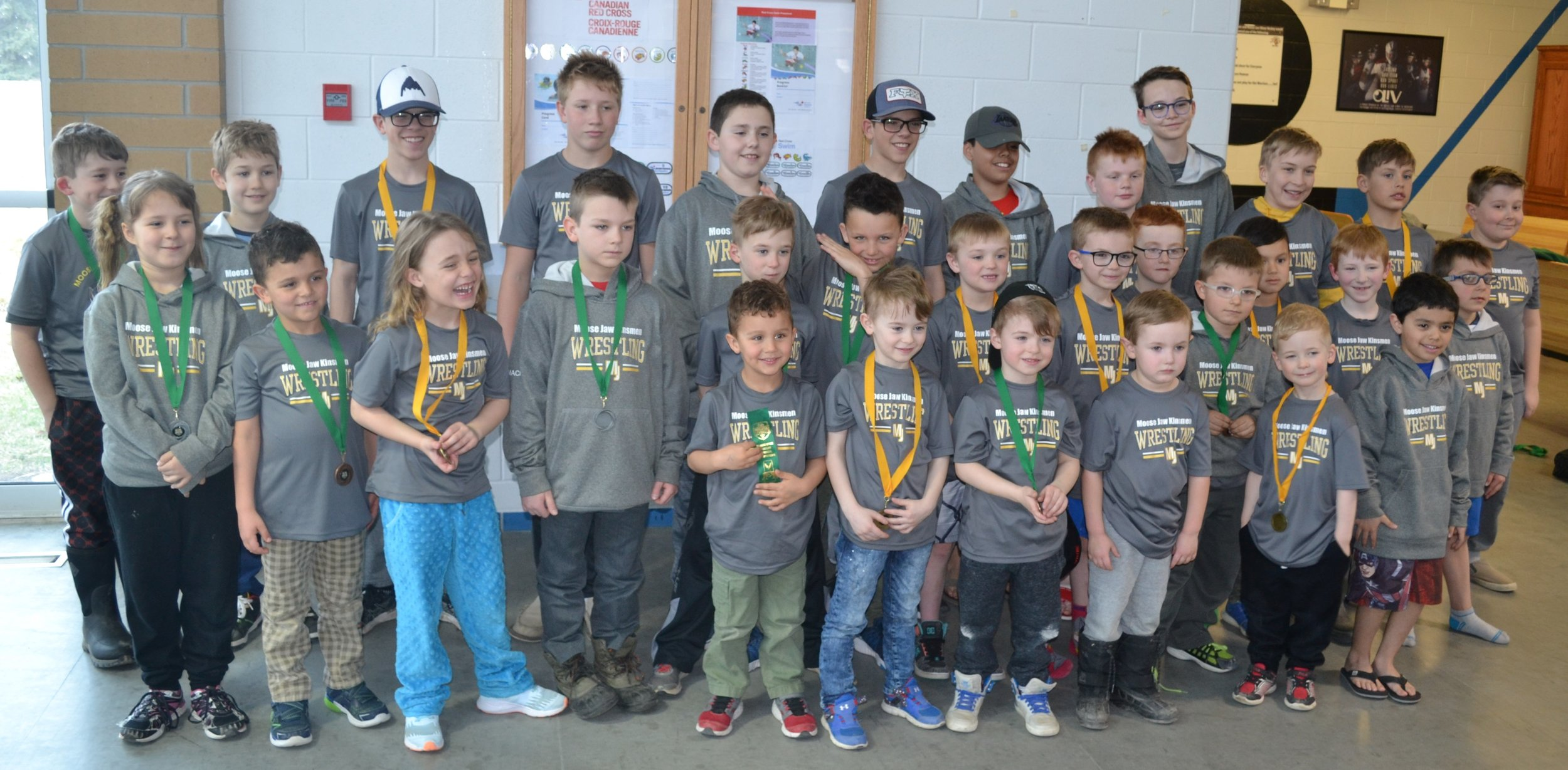 Moose Jaw's Wrestling Club Had A Large Contingent
