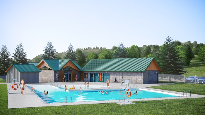 Artists Rendition of New Pool