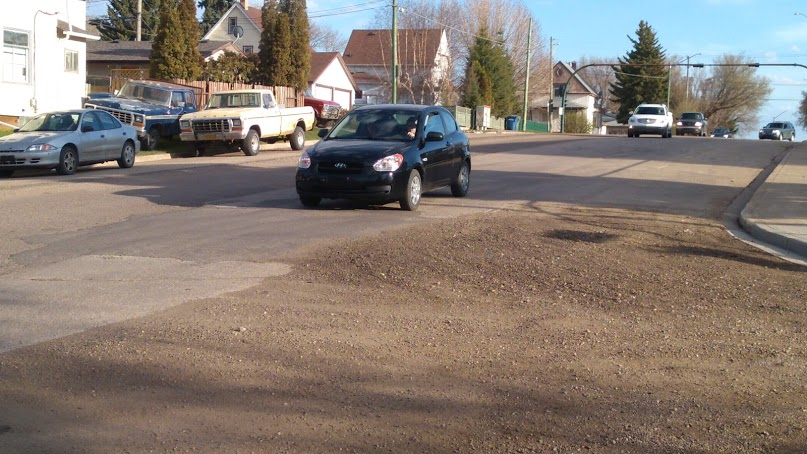 The roadway which has drawn complaints is about to be repaired - MJ Independent Photo