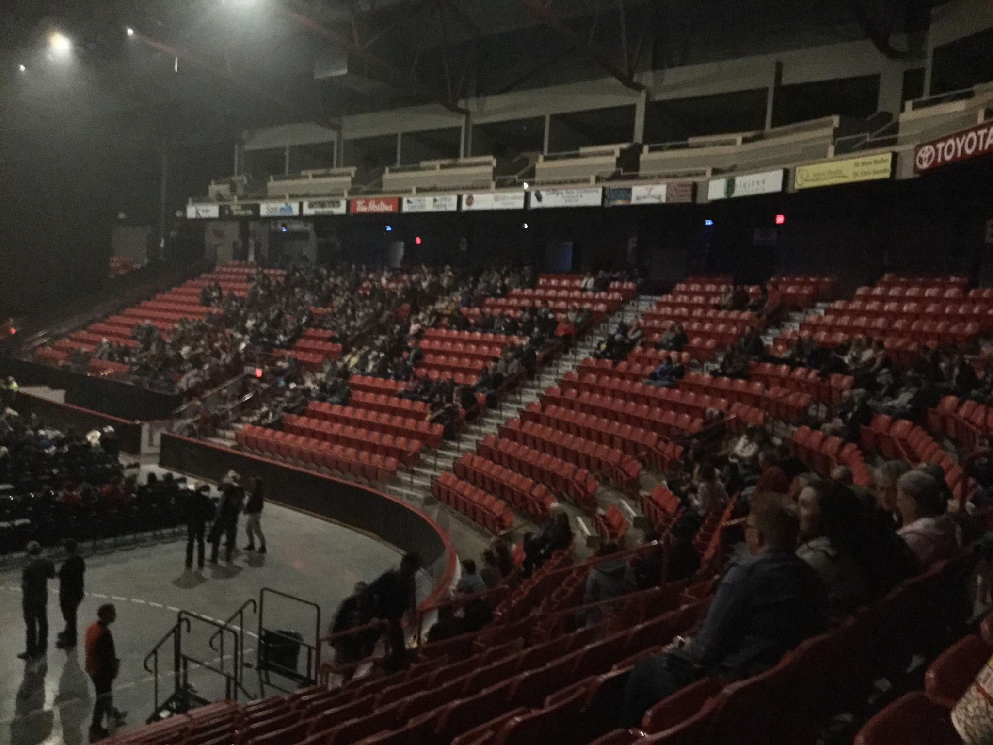 Everyone is commenting about the bad turnout - Comment by concert attendee Submitted Photo