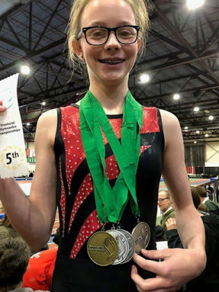 JO 3 - Hailey Wagner brought home some medals