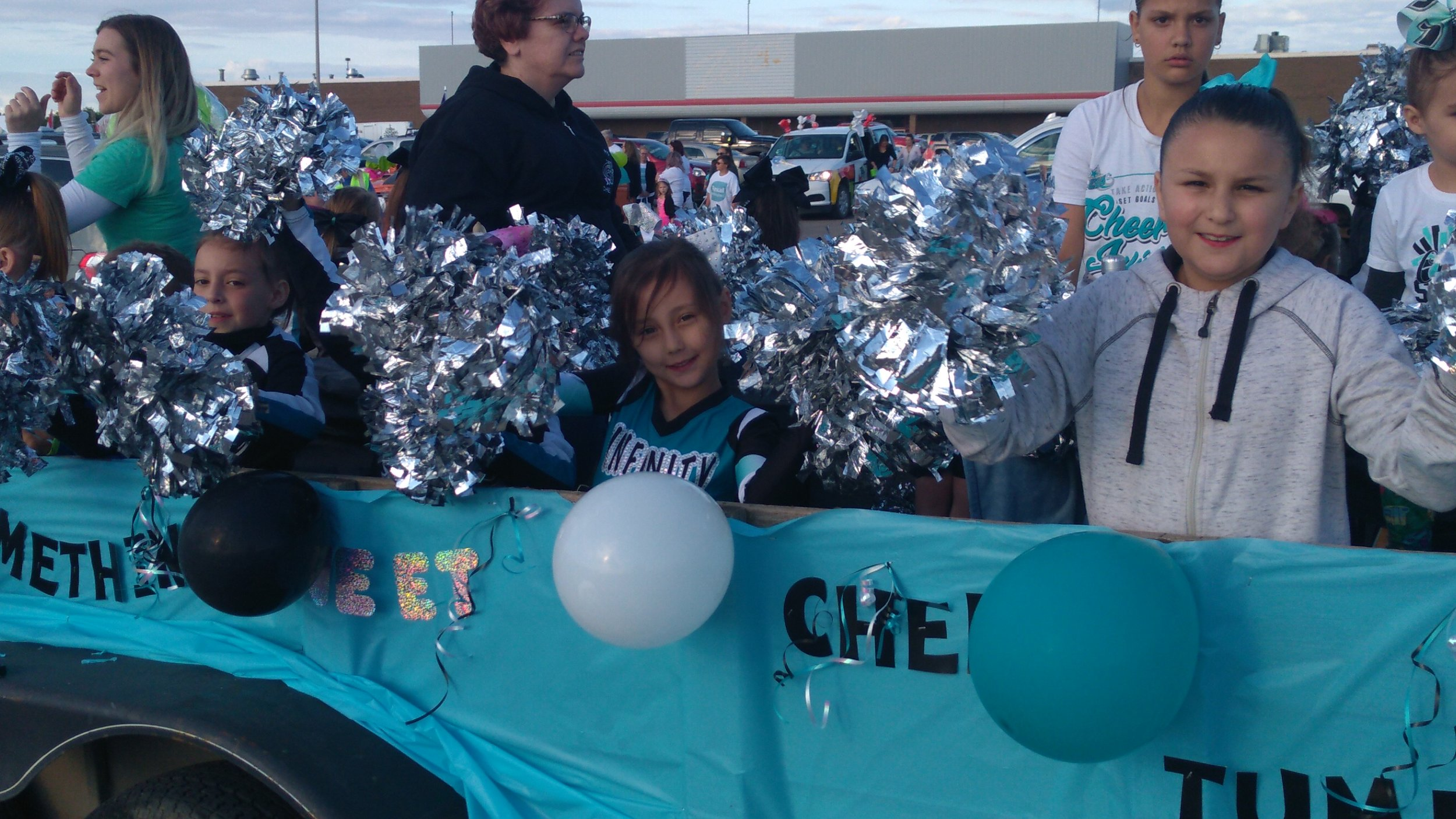 Children Figured Prominently On Many Floats