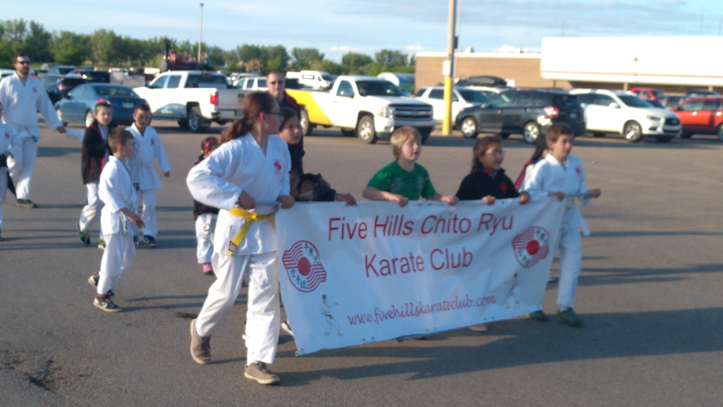 A Karate School Ran To Make Up Time