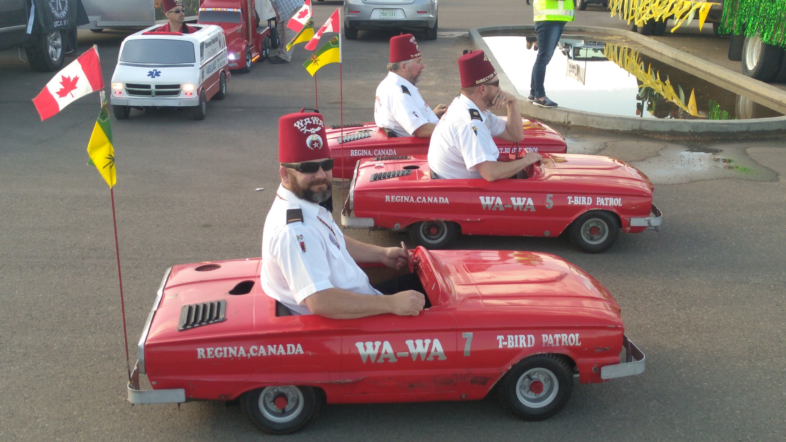 The Shriners Had The Tiny Cars Out For A Cruise
