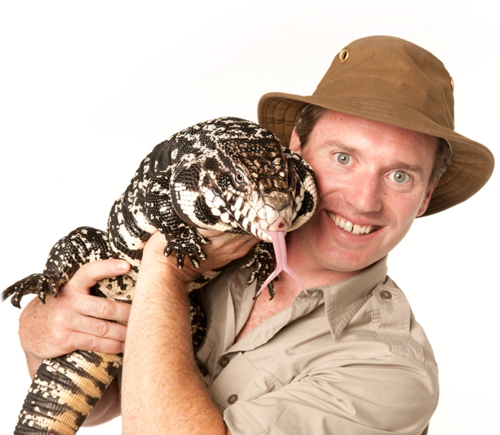Safari Jeff and a Reptile Friend - Meet and Photo Opportunities