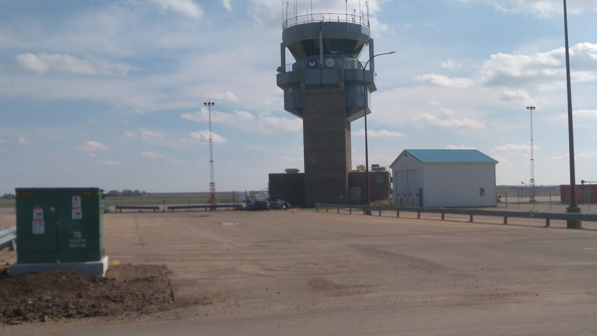 The control tower may be idle in this file photo but it won't be this weekend with the Airshow here
