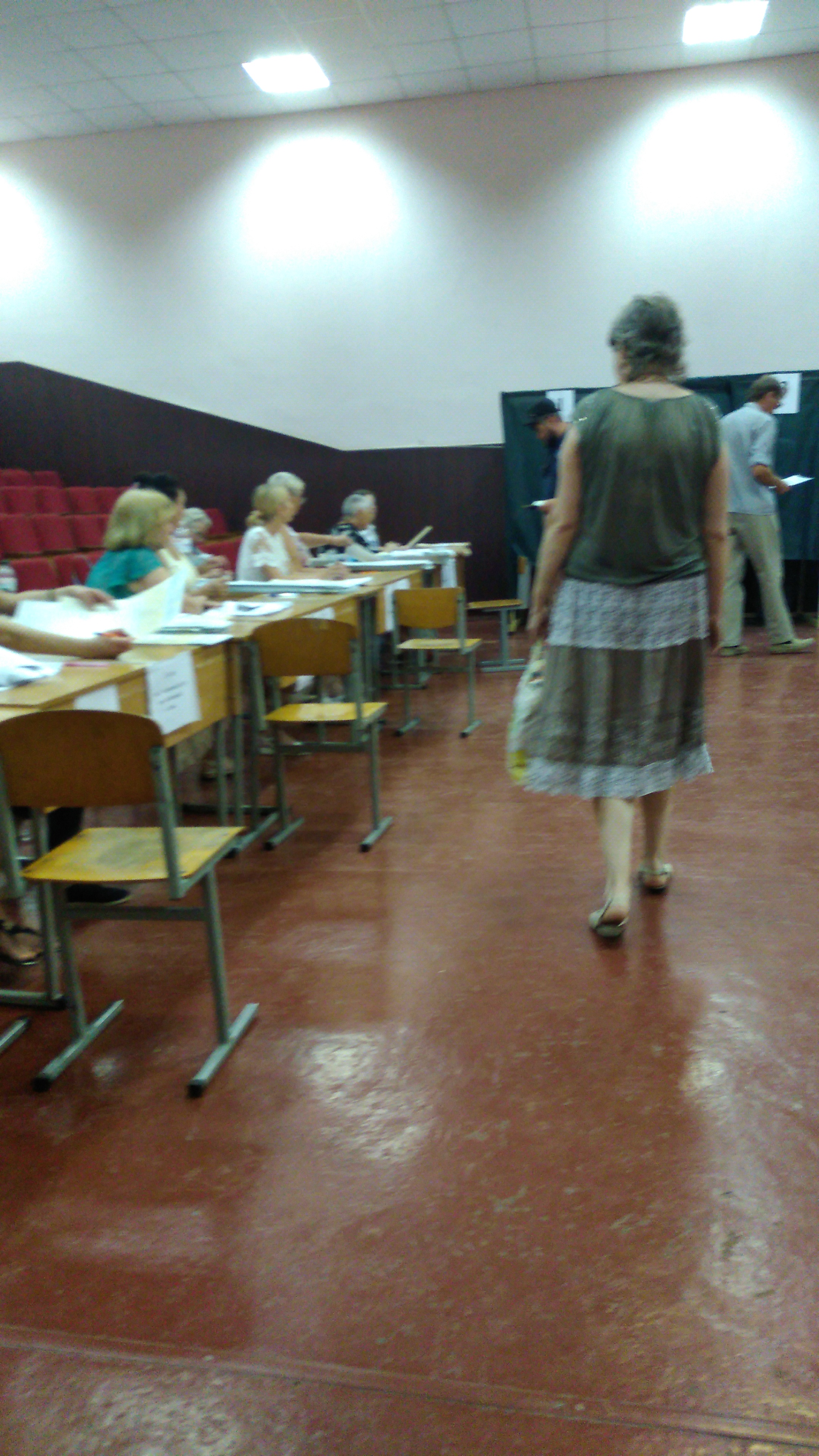 Voting was orderly in Odesa - MJ Independent Photo
