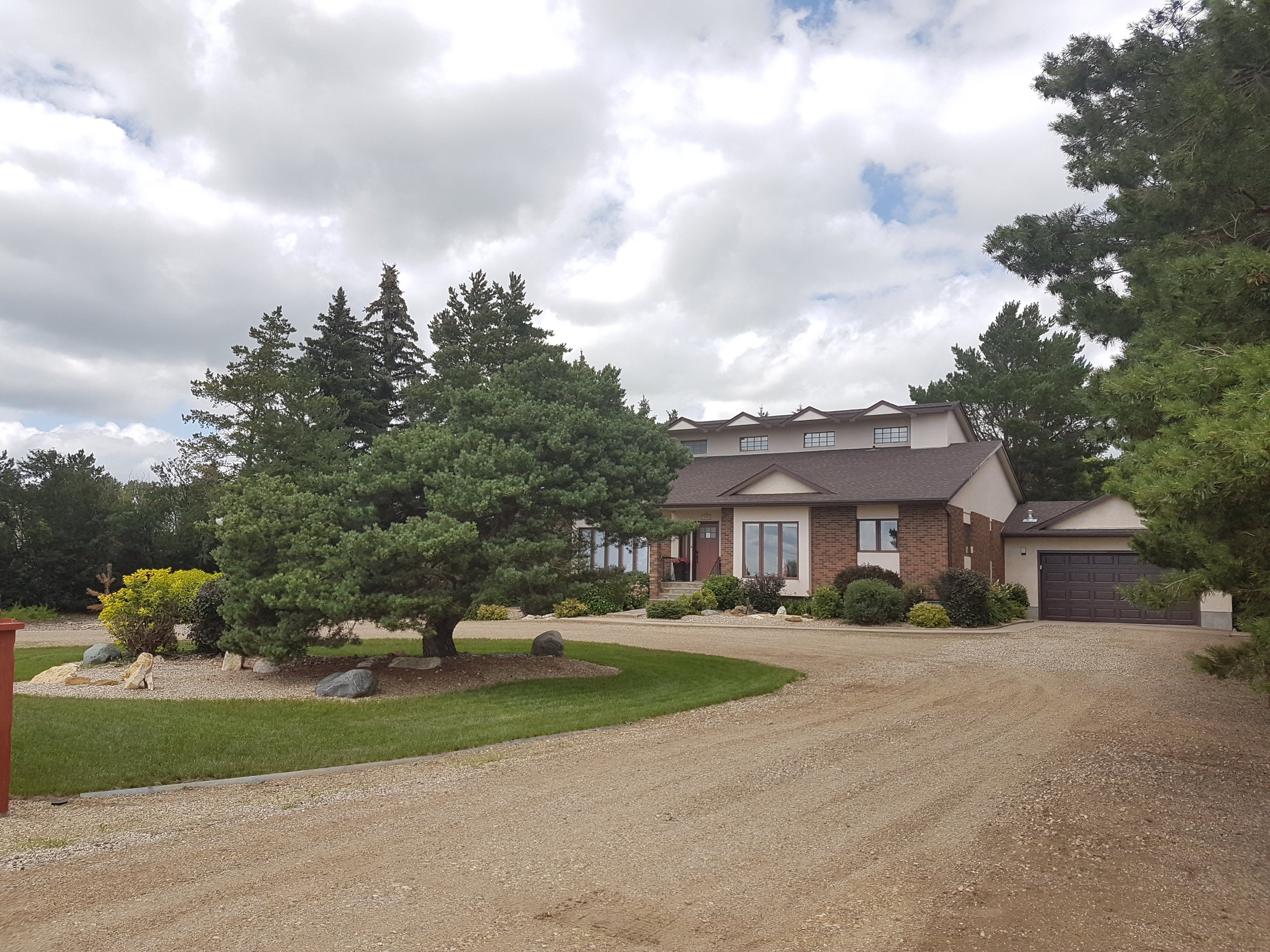 Curtis and Kirby Campbell's home was tied for Best Residential Property