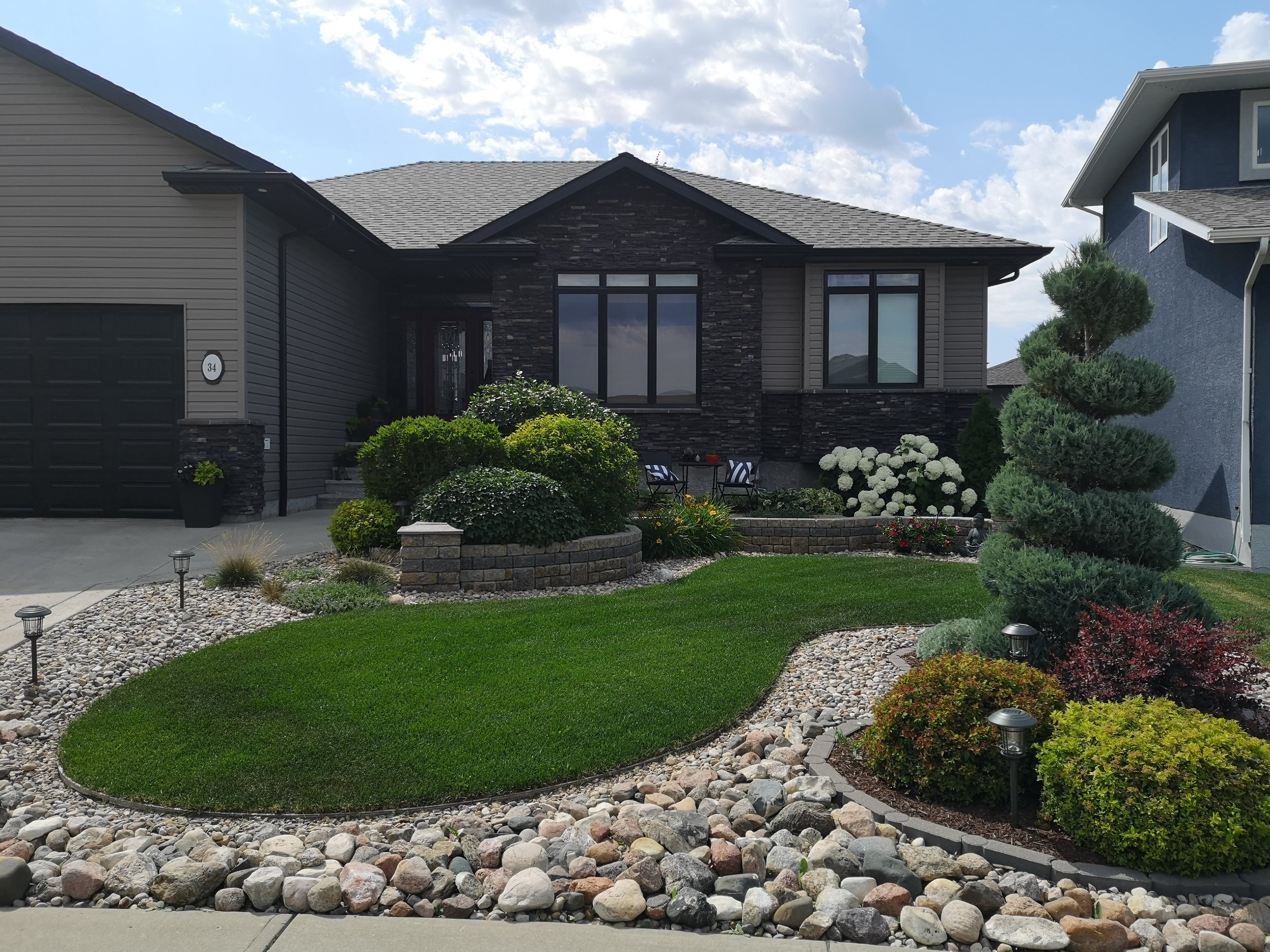 Kari Nelson and Ryan Hoover's home was tied for top honours