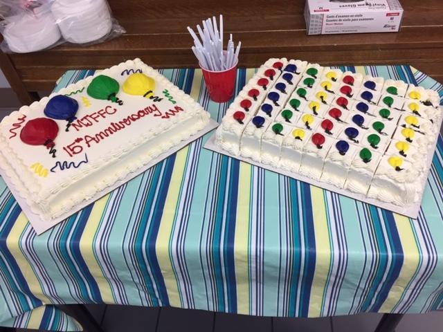 The 15th Anniversary Cake