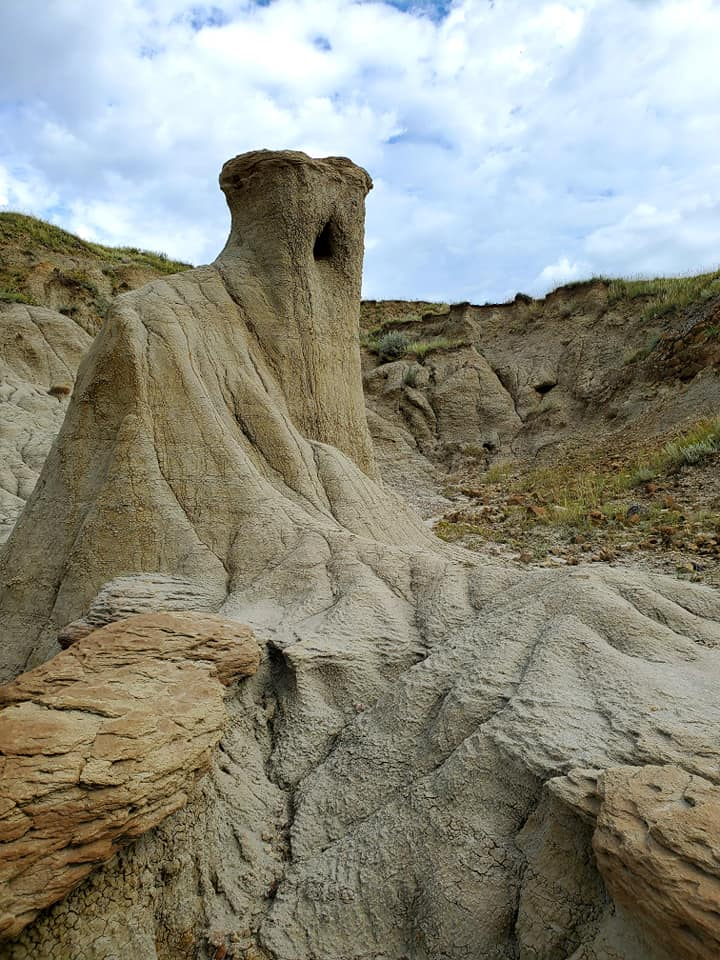 One of the prominent hoodoos - photo by Kimberly Epp