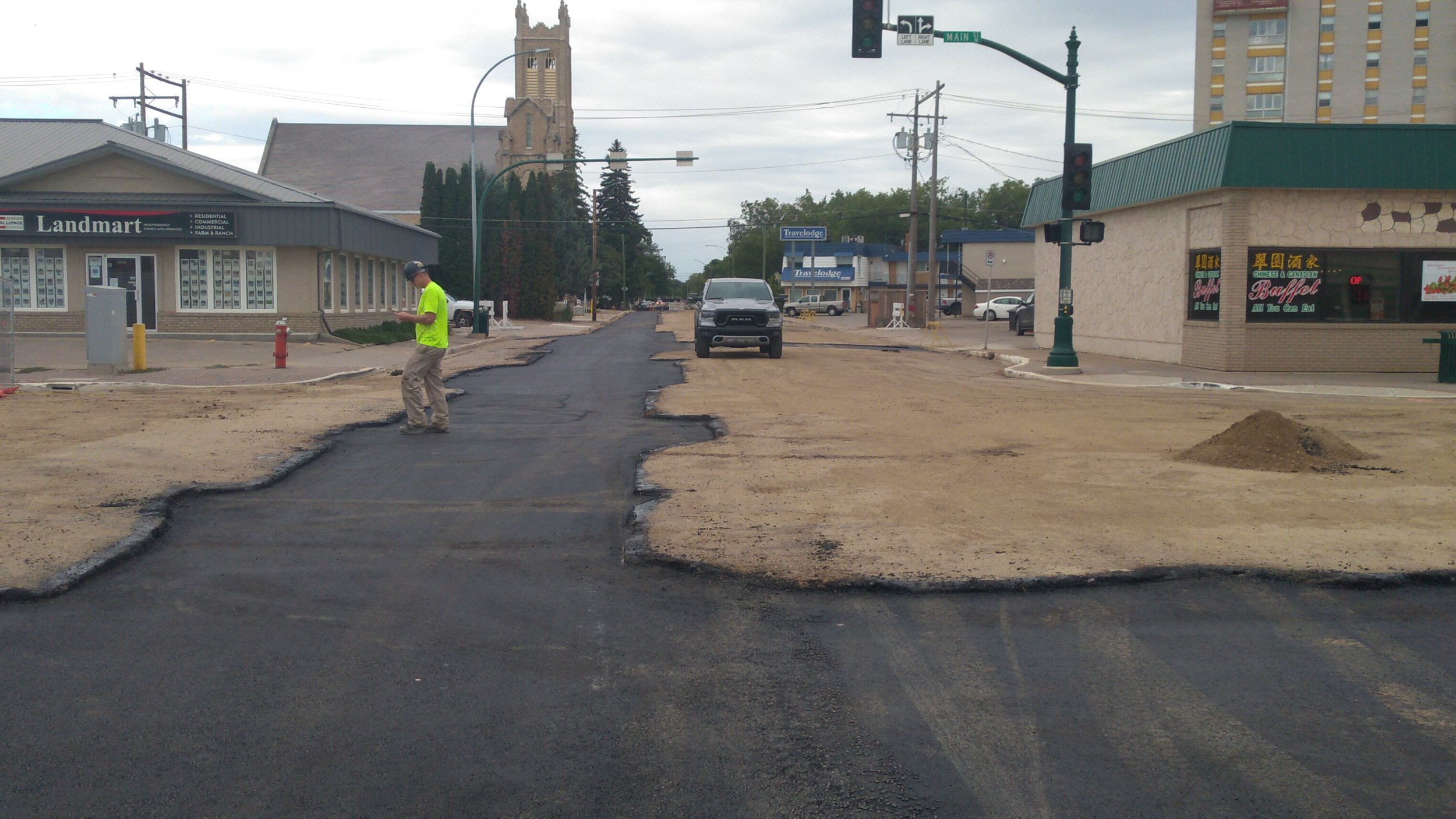Athabasca Street is set to re-opening by the weekend