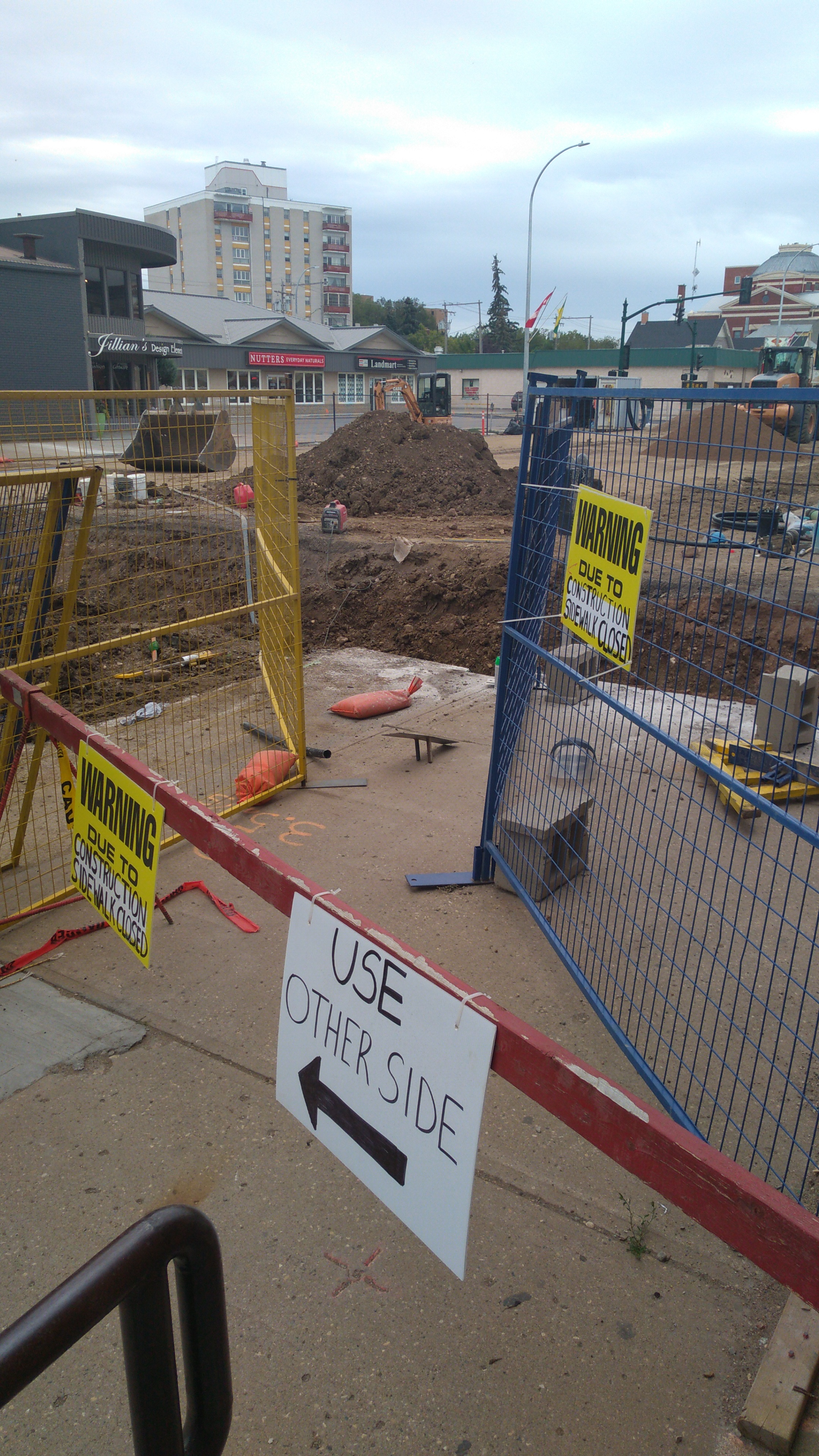 Main Street will remain closed for another two weeks