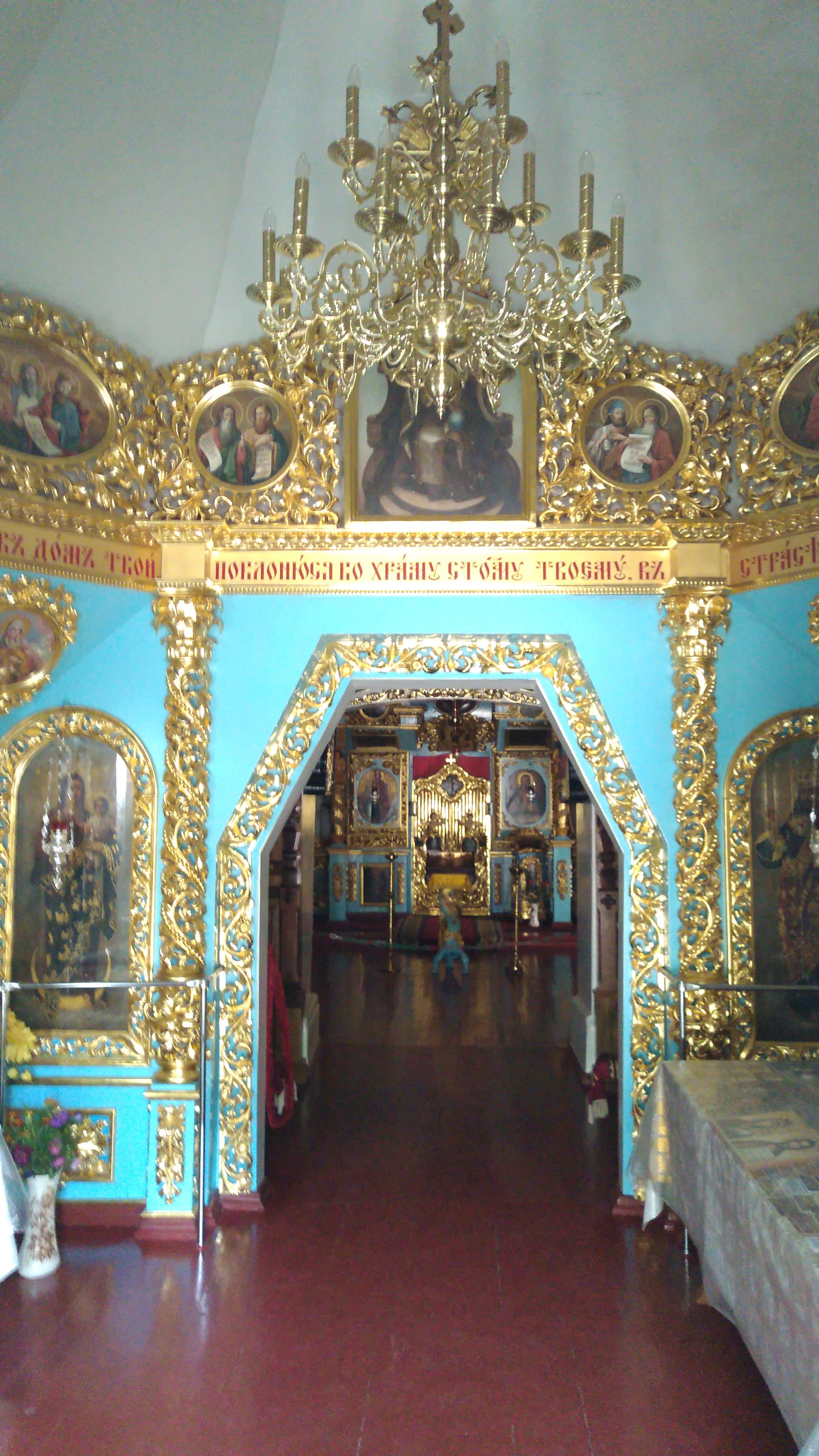 A look inside Saviour Church much what Peter the Great woukd have seen