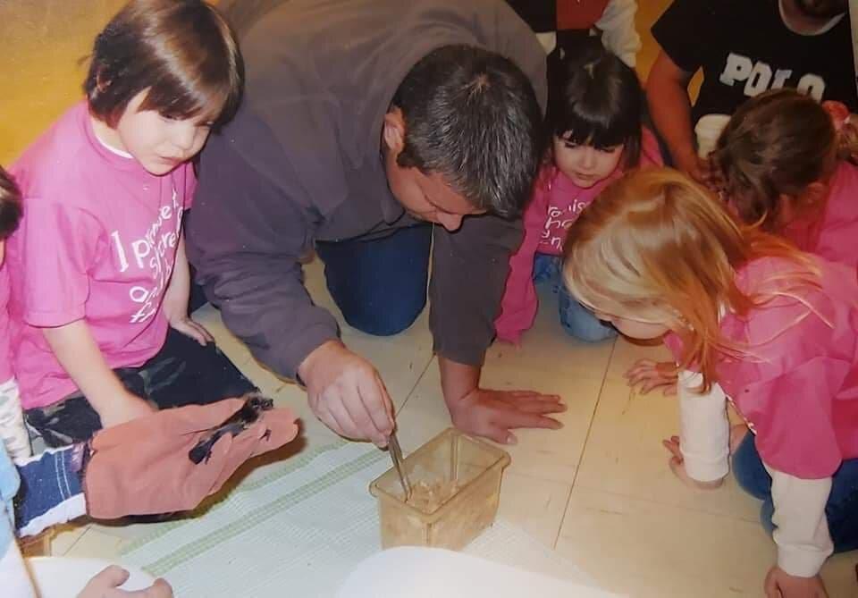 Kids learn about bats at an outreach program - Kimberly Epp photo