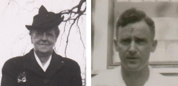 My Great Grandmother Edith and My Grandfather Millard