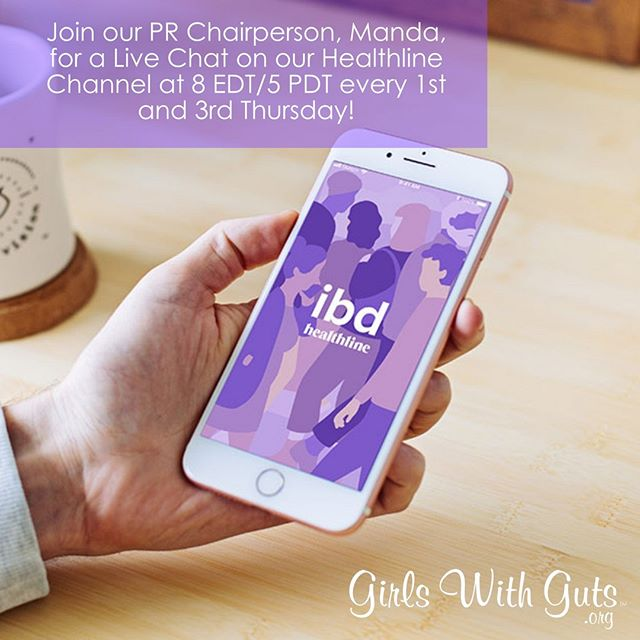 ⁠Join our PR Chairperson, Manda, for a Live Chat on our Healthline Channel every 1st and 3rd Thursday at 5PM PDT/ 8PM EDT!⁠ ⠀⁠ By downloading the app, you're helping grow our community in two ways - a new platform and a donation to GWG!⠀⁠ ⠀⁠ Download the app here (or click the link in our bio!): https://go.onelink.me/LOC7/3056dc8b⁠