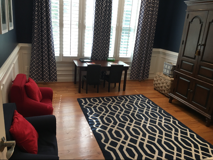 Living Room After – declutter complete!