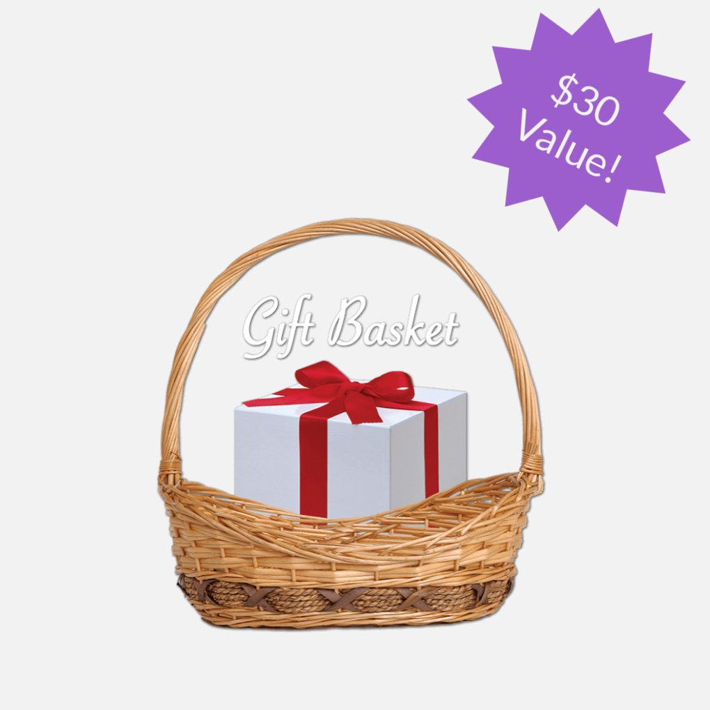 Get a gift basket with all kinds of goodies, including some of Lisa's favorite organizing tools -