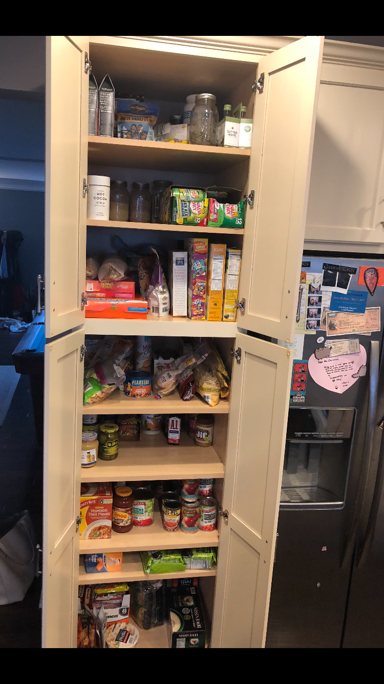 After Pantry Clean