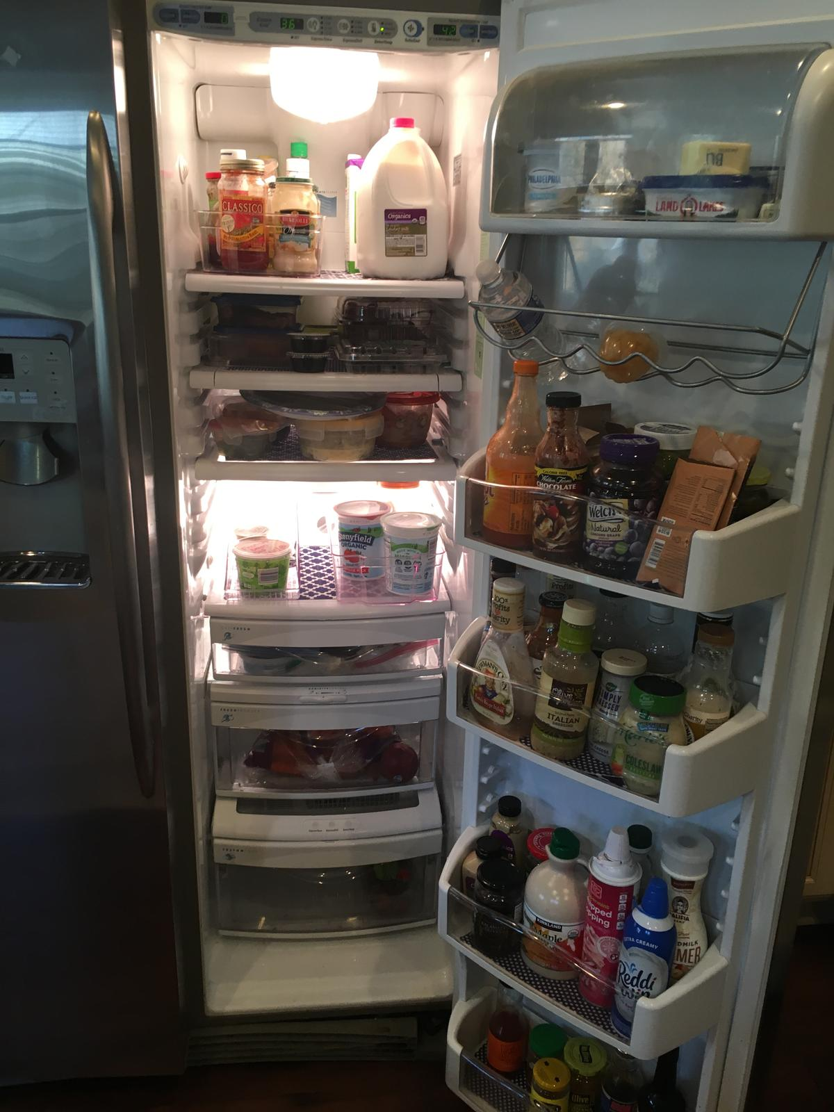 After Refrigerator Clean