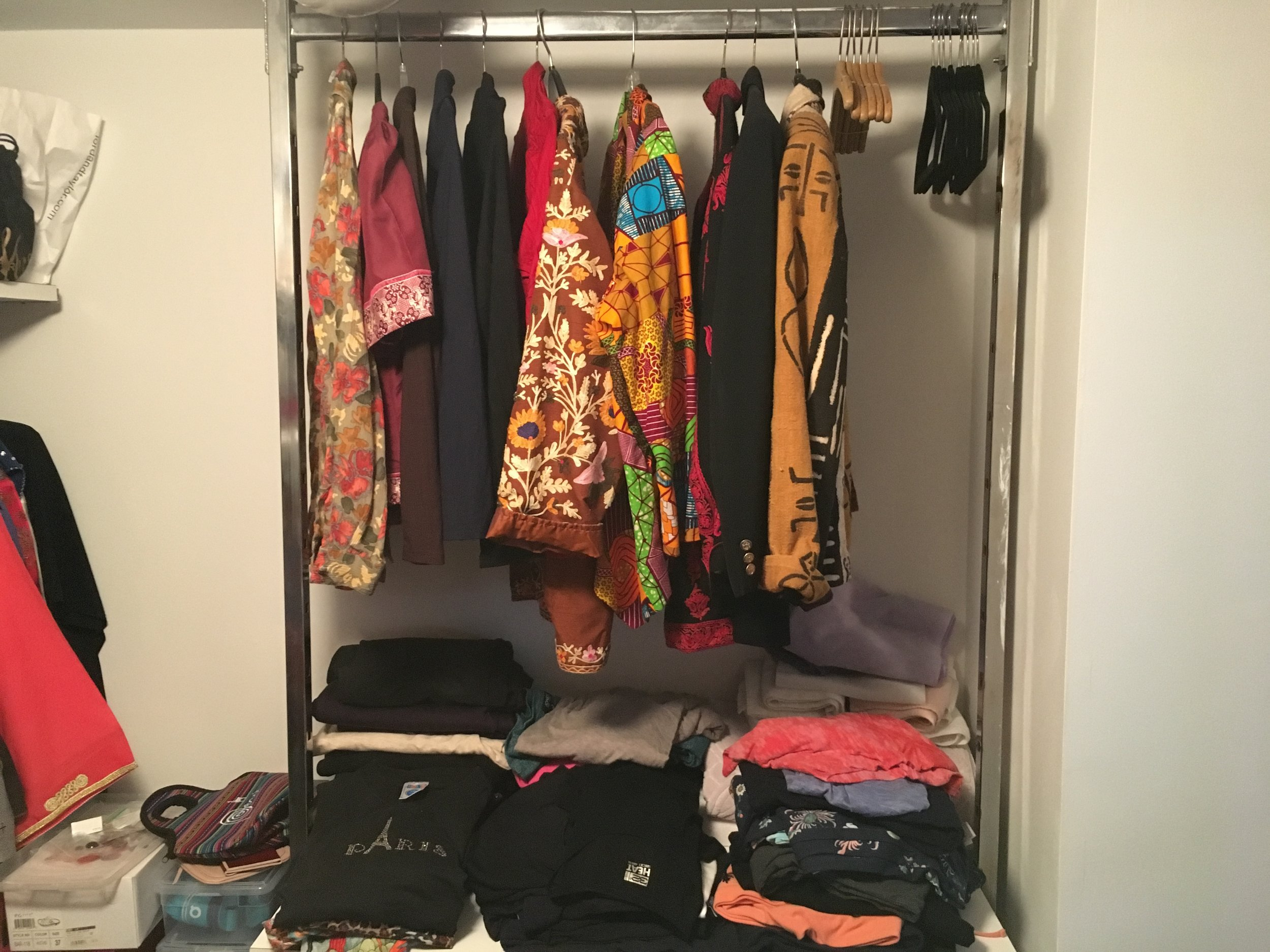 After - Closet Organizing