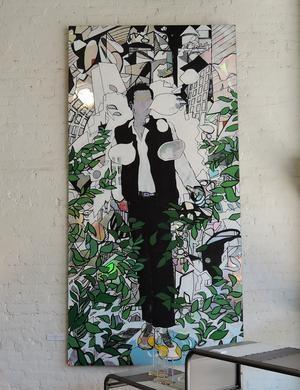 Paintings by  Mac Love