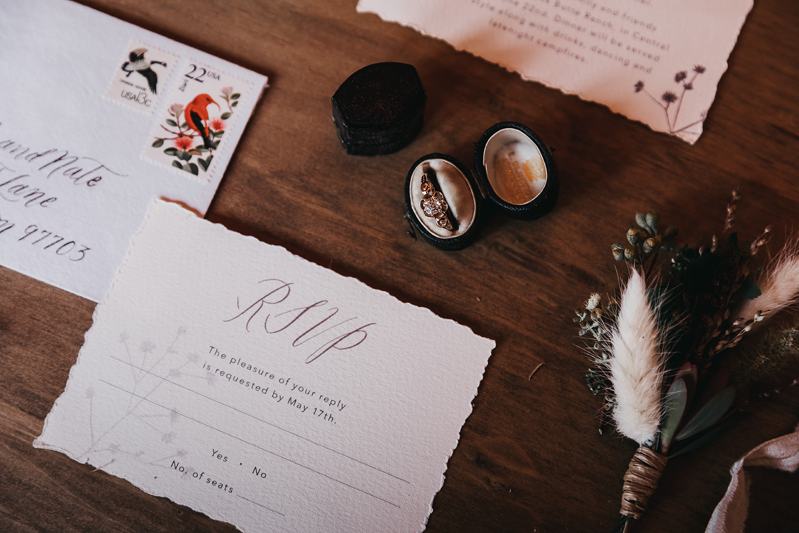 Items to keep with the Groom(s) - BoutonnieresTie/bowtieCufflinksBeltShoes
