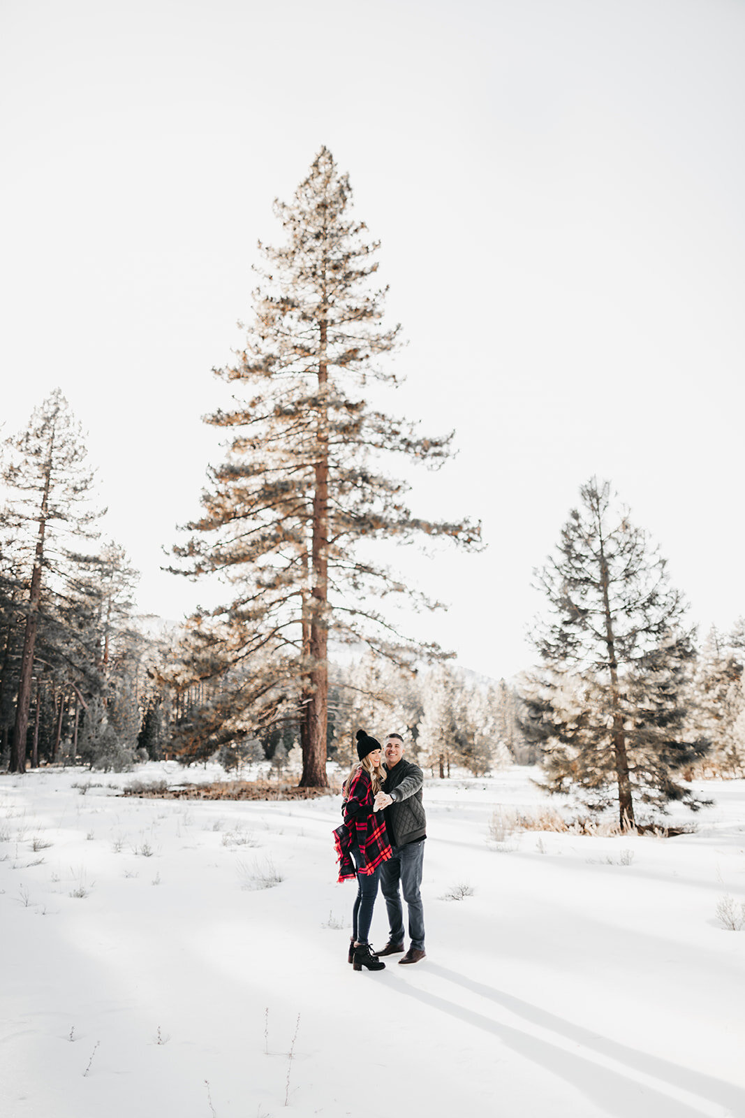 Tahoe winter photo session
