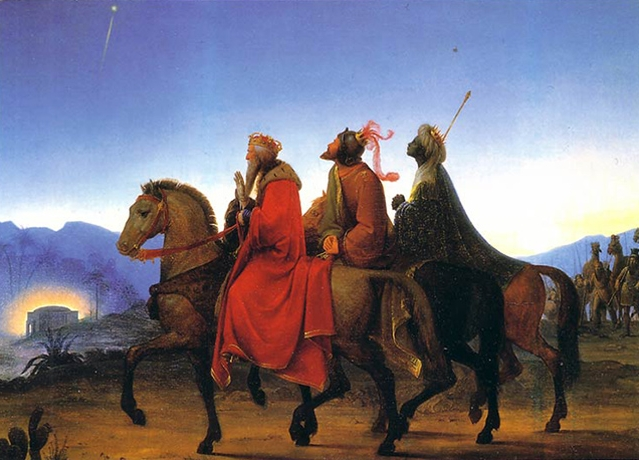 Journey of the Three Kings  (1825)  by Leopold Kupelwieser
