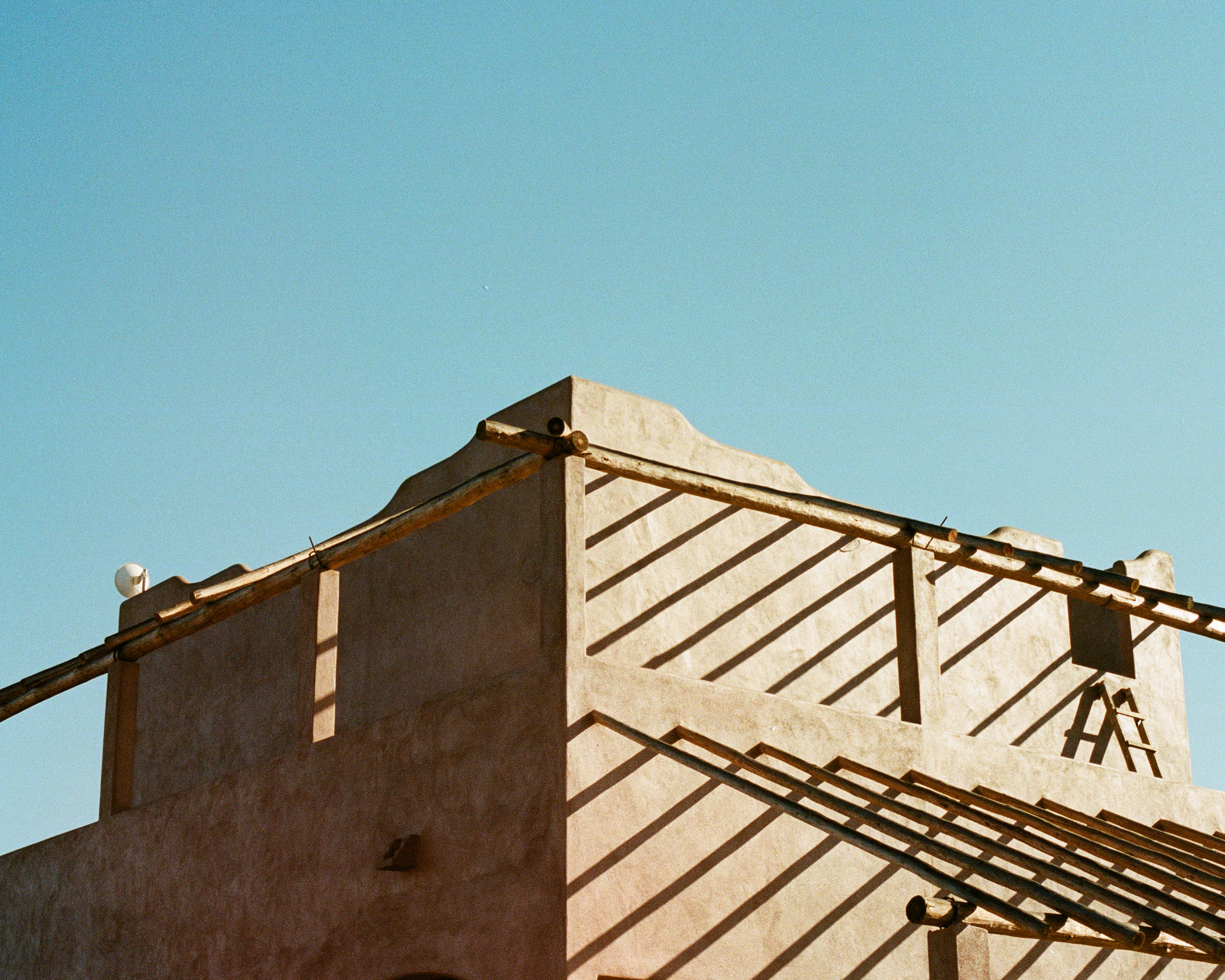 Photograph of adobe house in Baja Mexico by photographer Jon Moore, Creative Director at The Beans and Rice