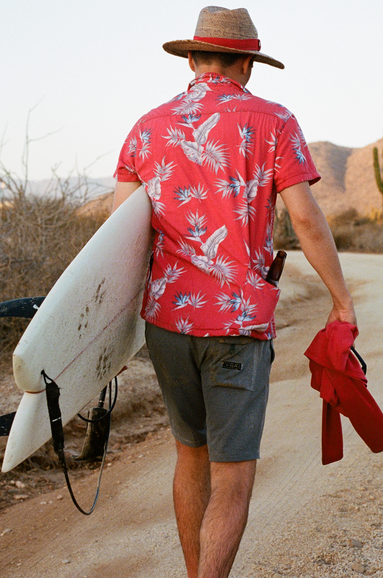 Photograph of Nick Messina surfing in Baja Mexico by photographer Jon Moore, Creative Director at The Beans and Rice