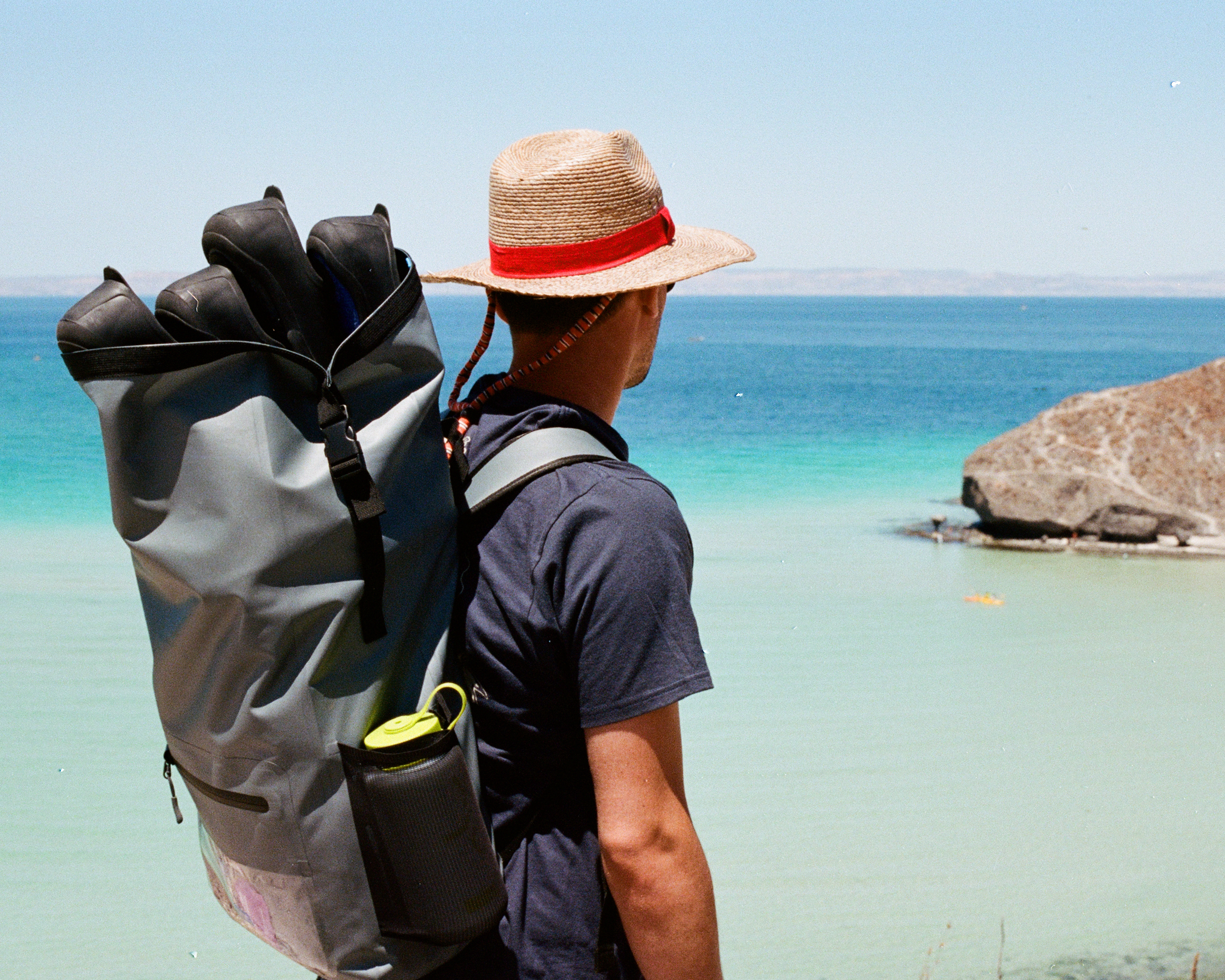 Photograph of Nick Messina in Baja Mexico by photographer Jon Moore, Creative Director at The Beans and Rice