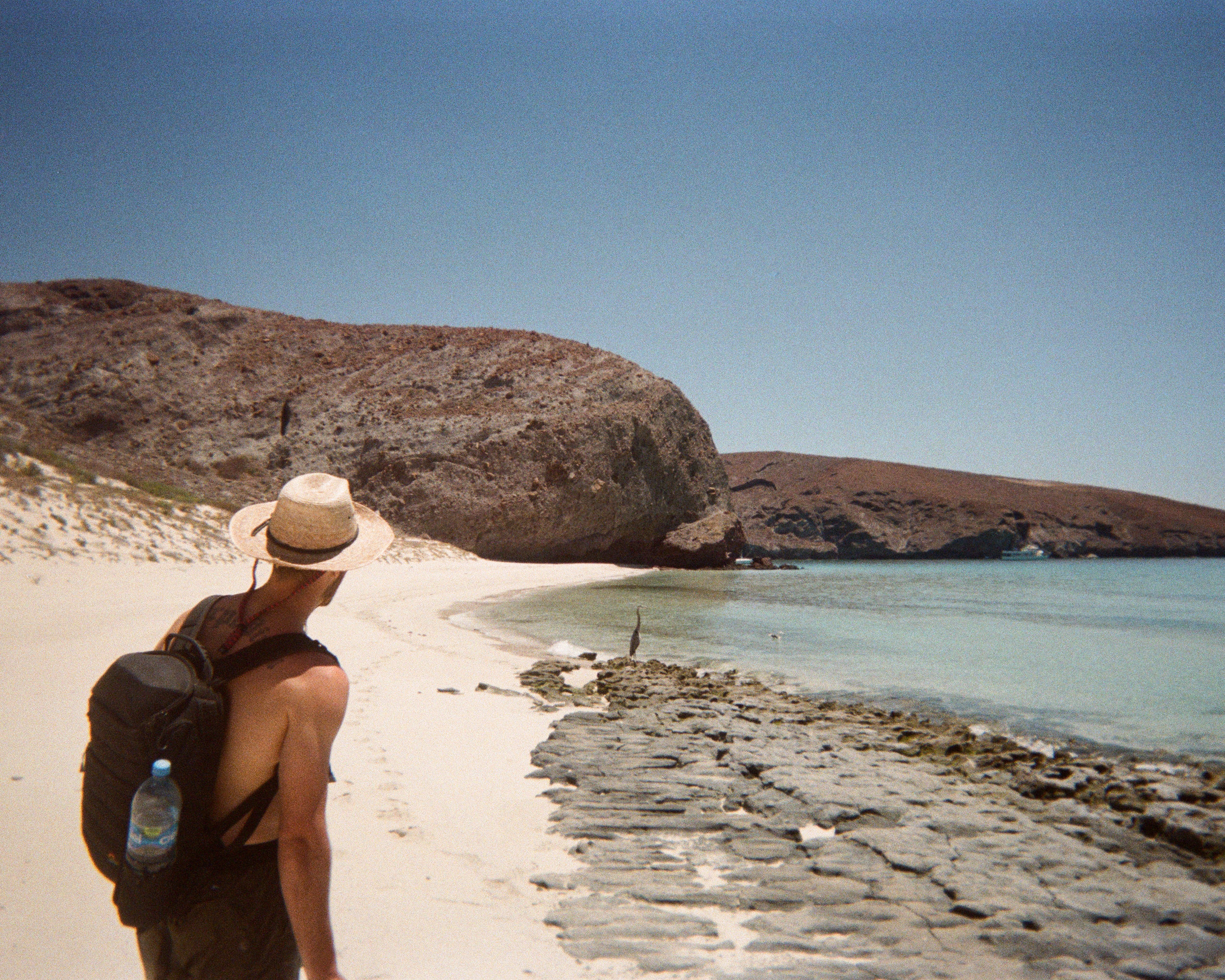 Photograph of Jon Moore in Baja Mexico, Creative Director at The Beans and Rice