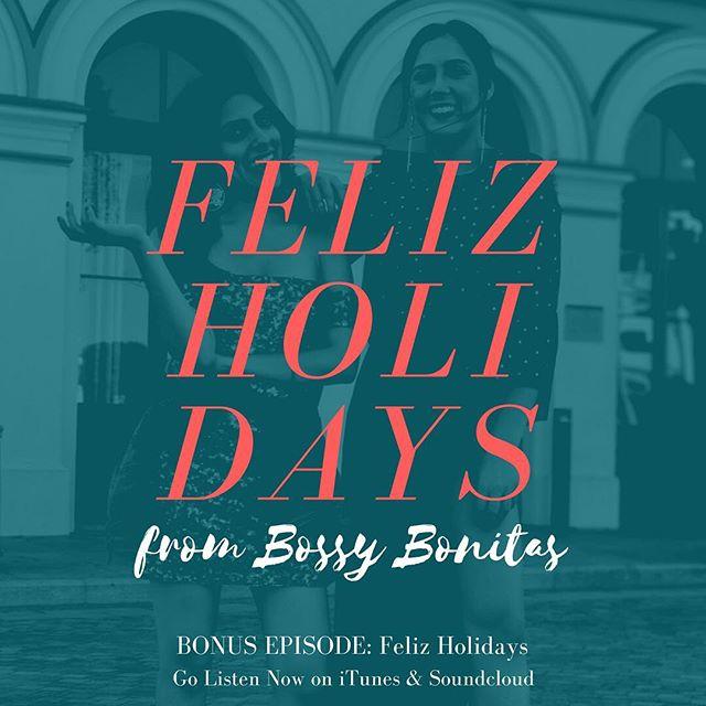 Happy Holidays, Feliz Navidad, Happy Hanukkah, etc. Bring out los tamales y el champurrado! All my Latinxs know today is the day we celebrate. Enjoy this early gift from @bossybonitas. Link in bio.