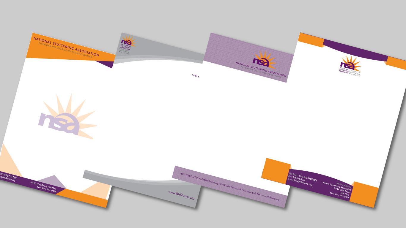 Project: NSA Letterhead Design - Brand Development, Content Creation