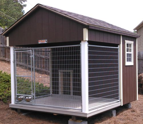 8x10 Single Canine Kennel