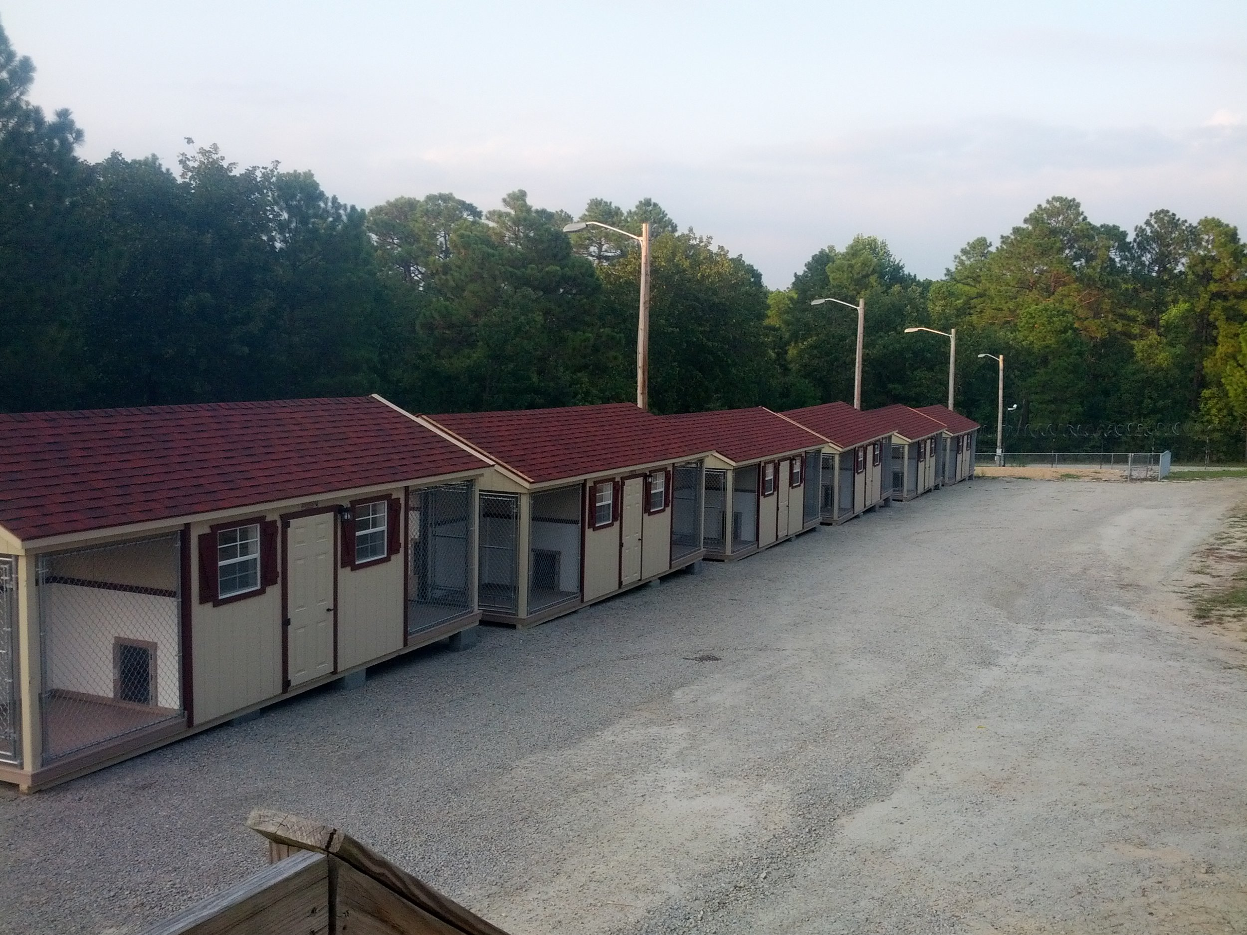 Six Quadplexes Installed on Location