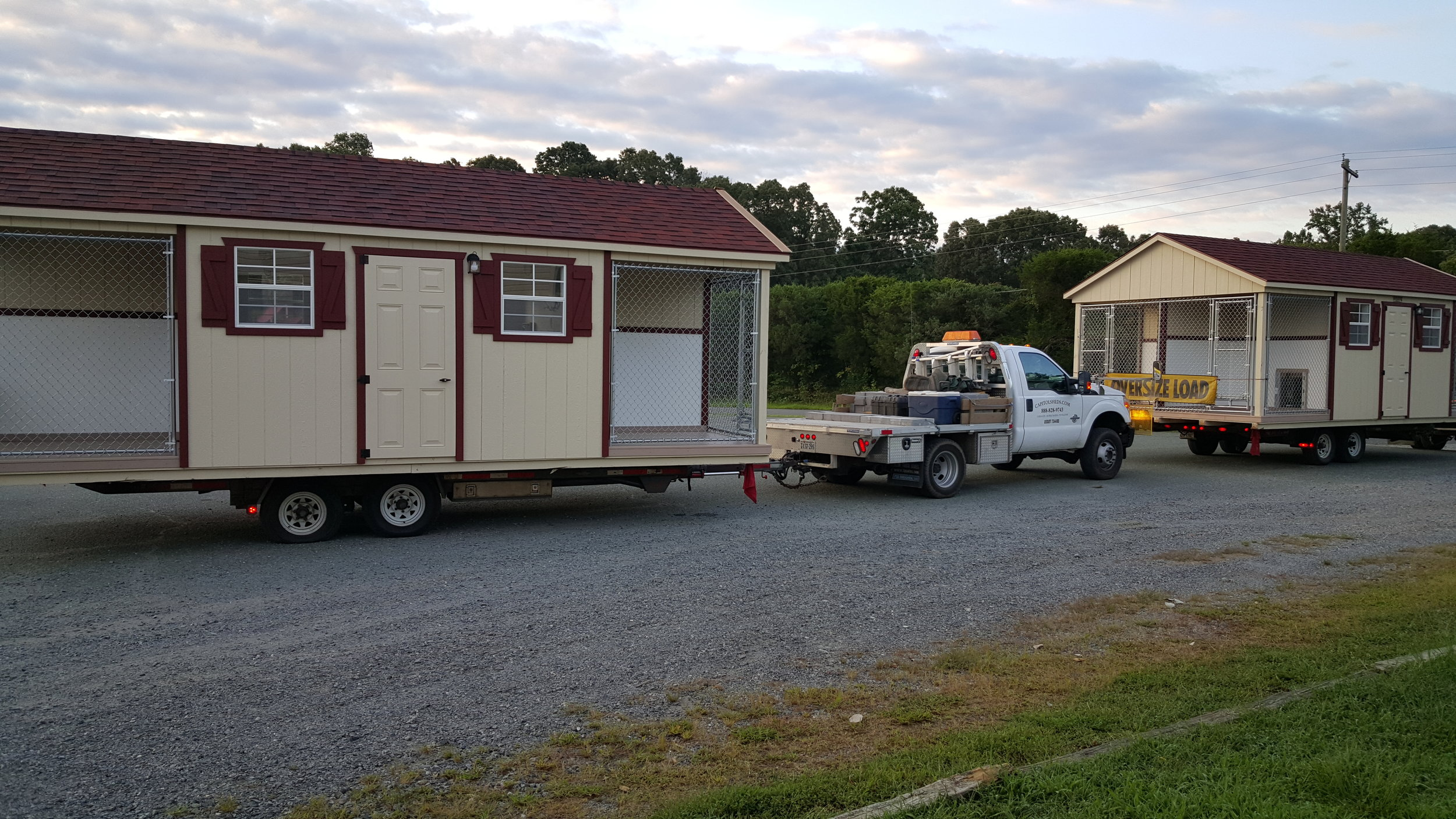 Quadplexes Loaded for Delivery