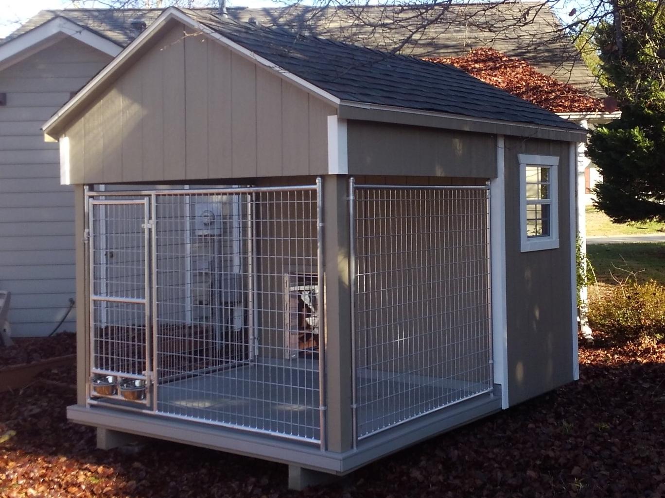 8x10 Single Dog Kennel