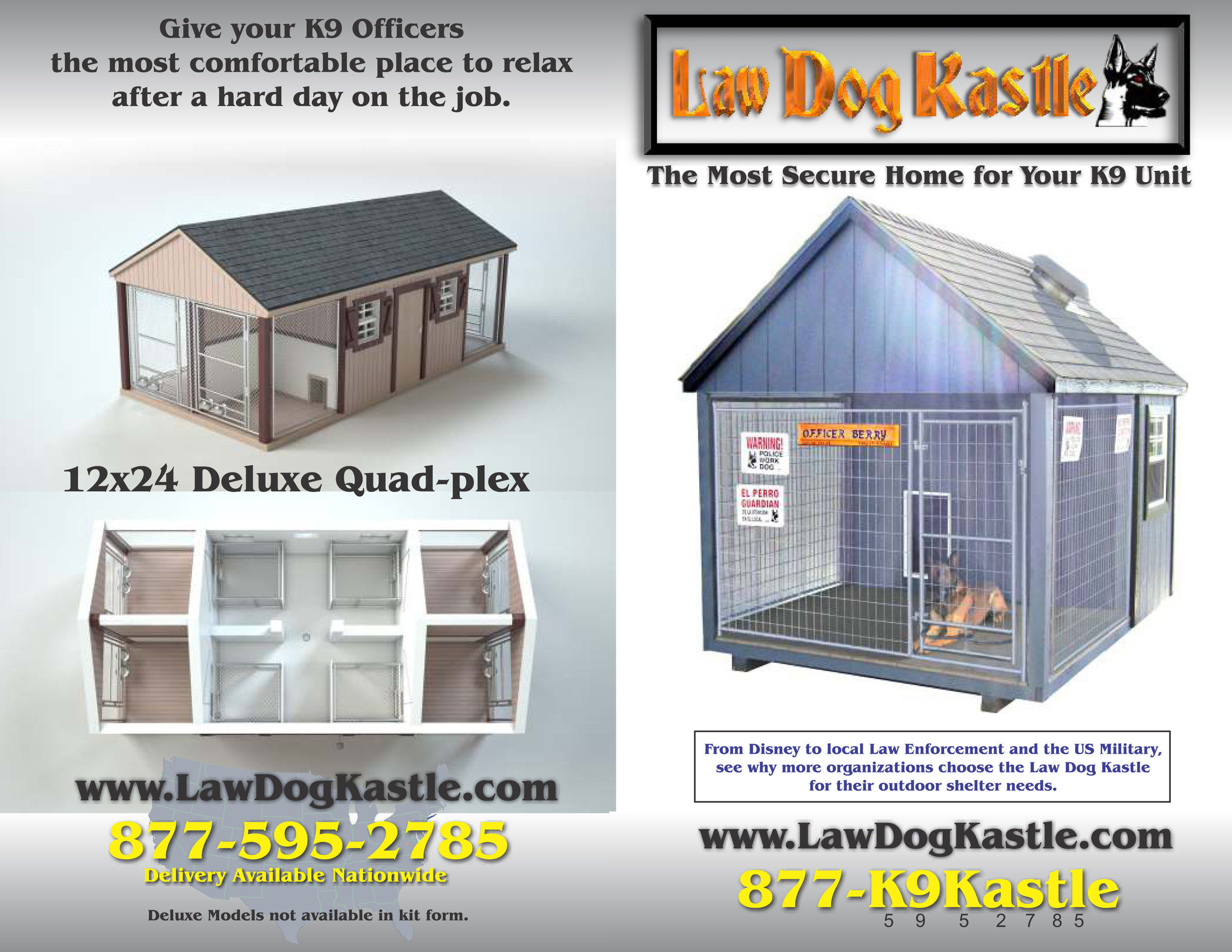 Law Dog Kastle High Quality Brochure
