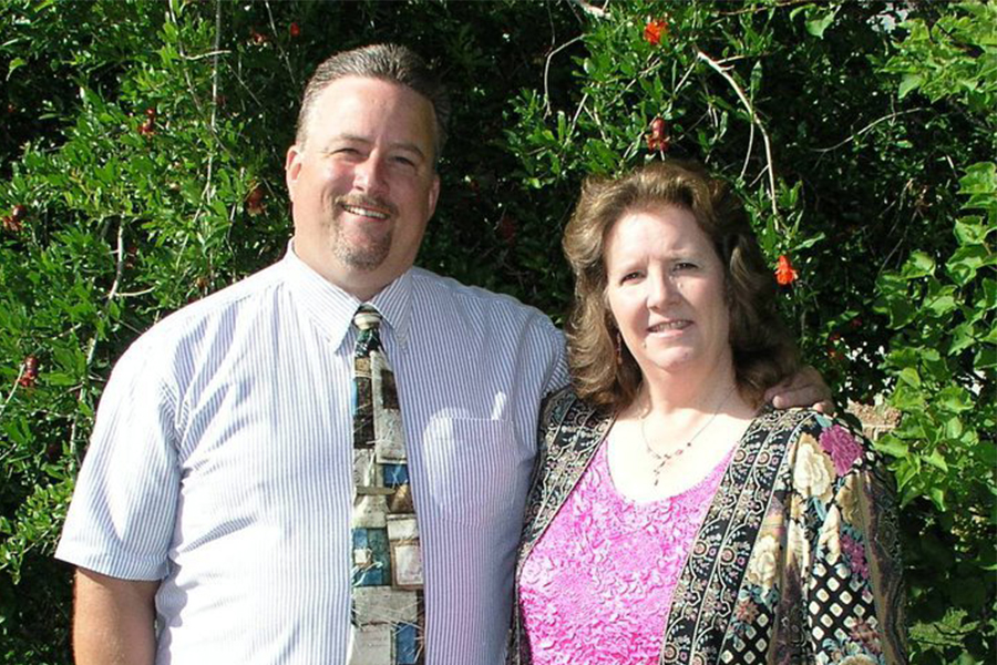 Jeff & Lee McLamb - EldersJeff and Lee McLamb are two treasured members of our church, gentle and faithful servants. Married since 1991, they have 2 children, one grandson, and two granddaughters. They have been attending Faith Builders since 2005, graduated through the School of Ministry in 2009, and were ordained as Elders in March of 2013. They serve our church as directors over the Usher and Greeter Ministry. In their professional lives, they run an automotive tire and repair facility.