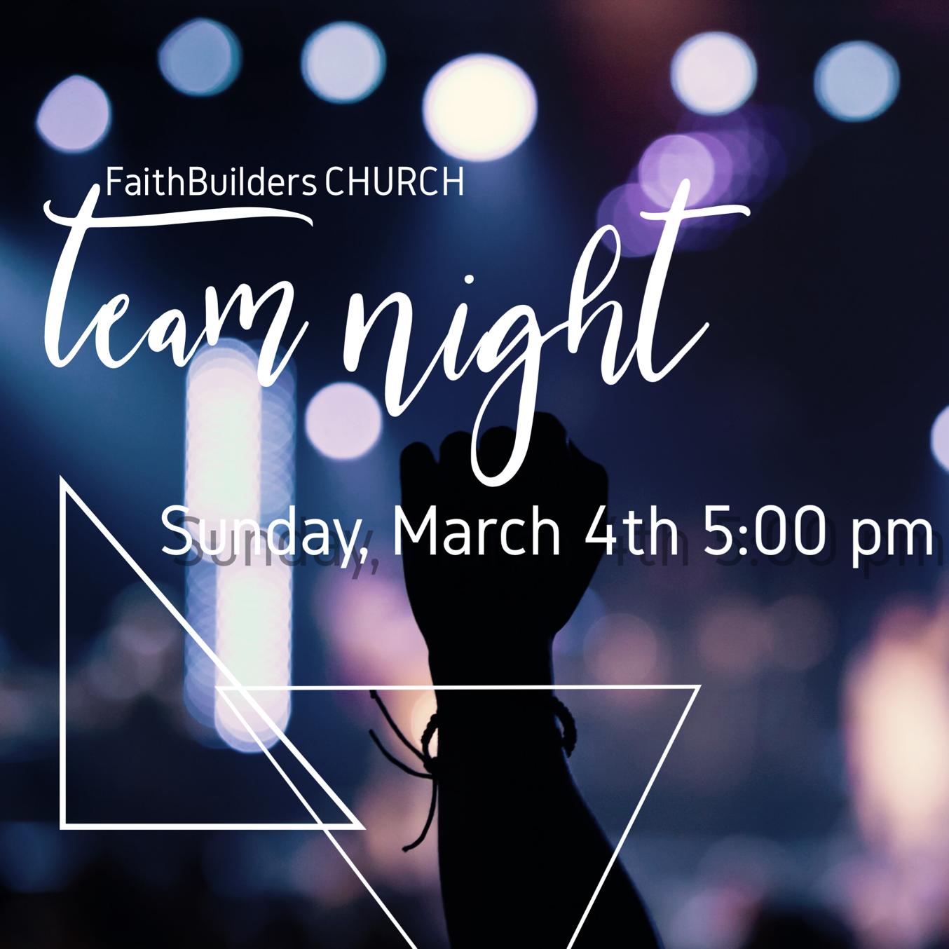 Team Night - Vision & Creativity