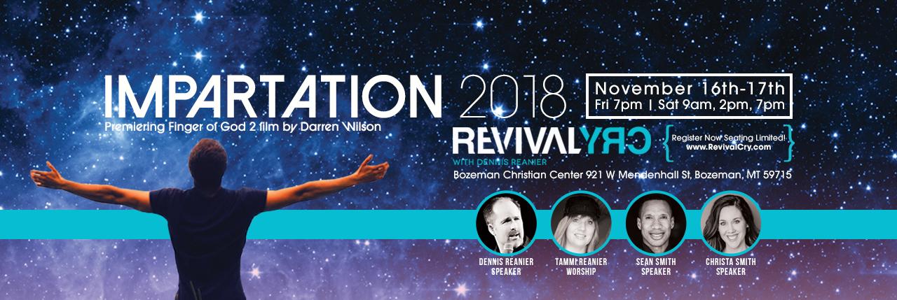 IMPARTATION 2018 - Dennis R & Jason Upton