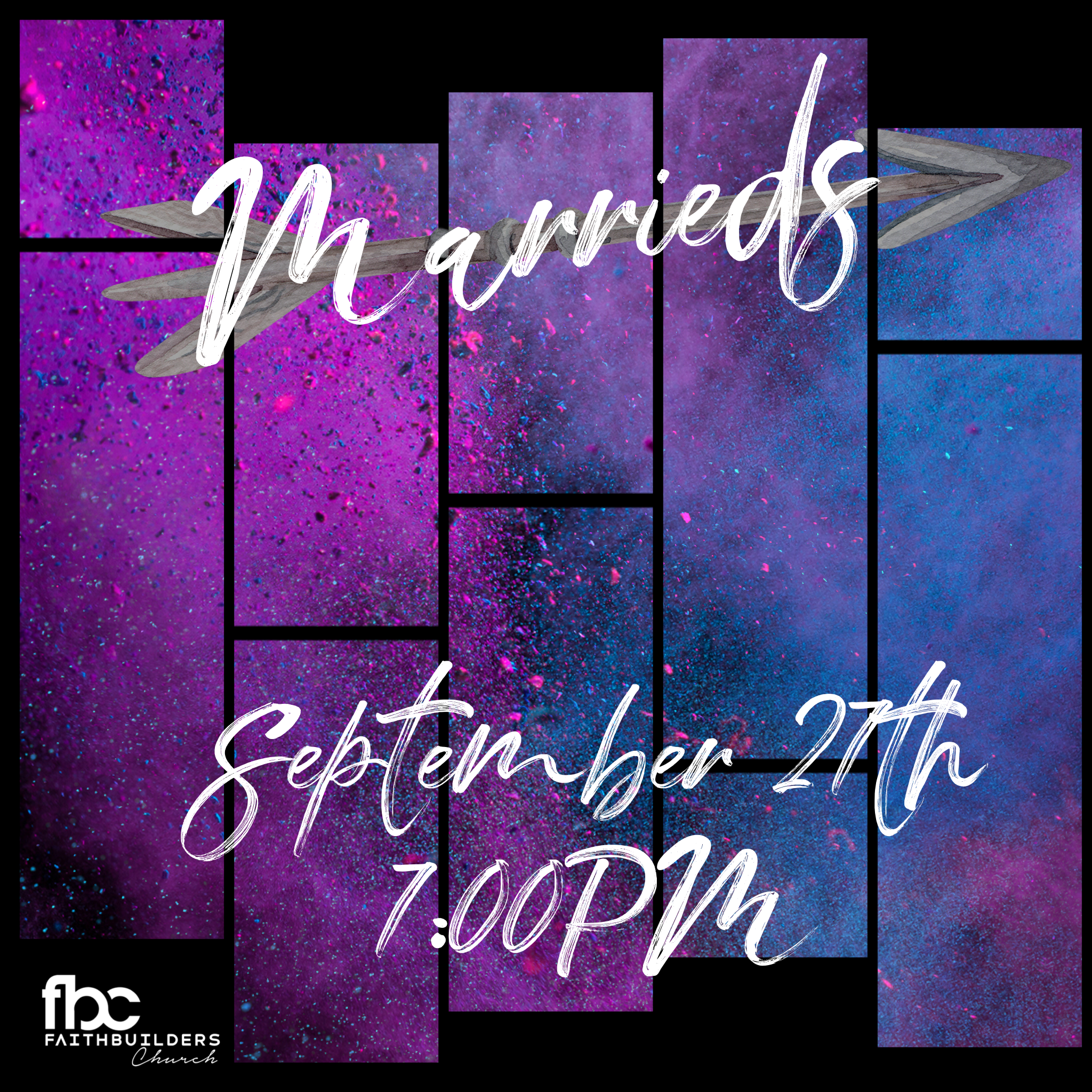 Marrieds Night! - Friday, September 27 7:00PMPastor Matt & Ginger McLamb's Home5541 West Saguaro DriveGlendale, AZ 85304