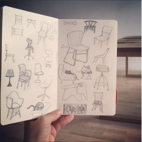 The chairs on my Wishlist...