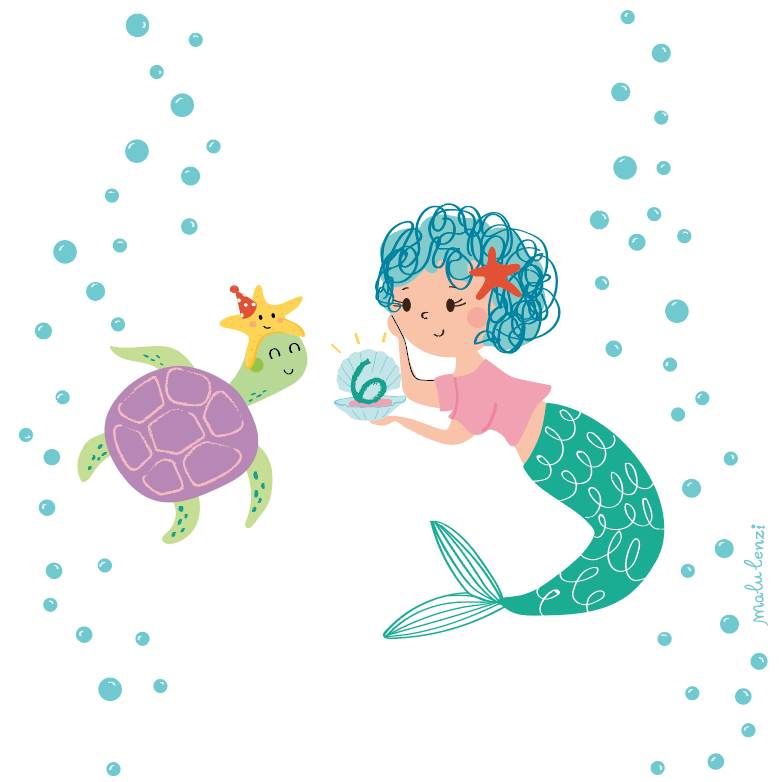 Happy 6th bday Mermaid