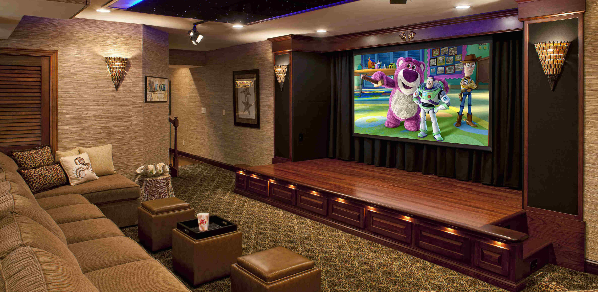 South County Sound and Video offers residential home theater installation as well as commercial theater and security installation.